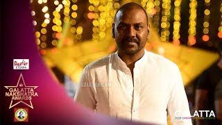 Why Lawrence wears White always? | Galatta Nakshatra Awards