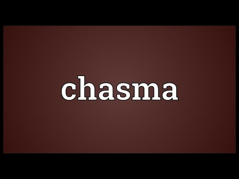 Chasma Meaning