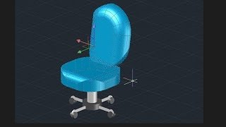 Office Chair - Autocad