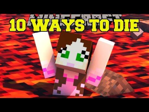 Minecraft: UNBELIEVABLE DEATHS! - 10 WAYS TO DIE 3 - Custom Map