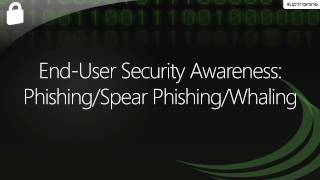What is Phishing, Spear Phishing, and Whaling?