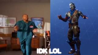 Fortnite - Dances In Real Life [VS] All Dances New Ft - Backpack Kid, Carlton, ETC
