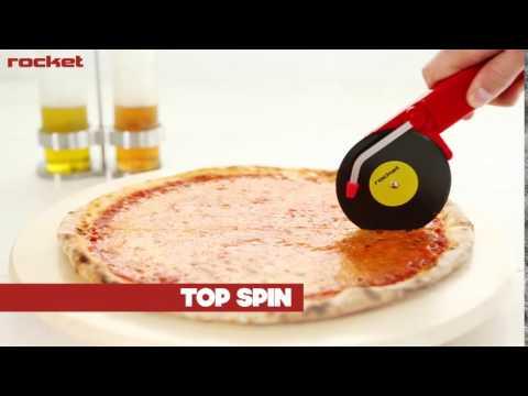 Novelty Musical Gift - Pizza Cutter