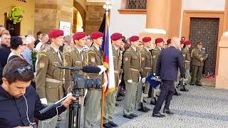Pohřeb Martina Marcina zabitého atentátníkem v Afghánistánu