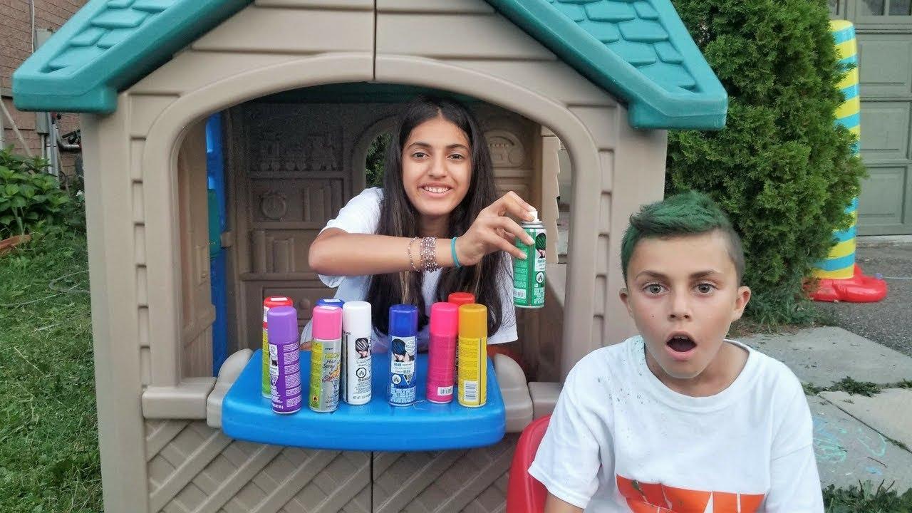 Color your Hair at the Playhouse Hair Salon – Hzhtube Kids Fun | Tổng quát những tài liệu liên quan đến kids hair salon chính xác