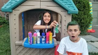 Color your Hair at the Playhouse Hair Salon - Hzhtube Kids Fun