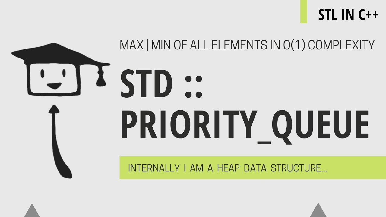 std::priority_queue In C++   STL C++