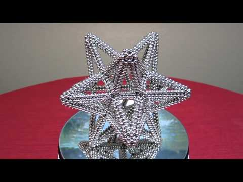 Small Stellated Dodecahedron (Zen Magnets)