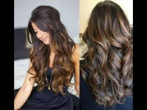 The Best Highlight Colors For Dark Brown Hair Youtube