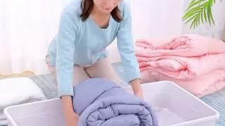 침대밑 수납장 이동식 이불 옷 의류 정리함 언더베드