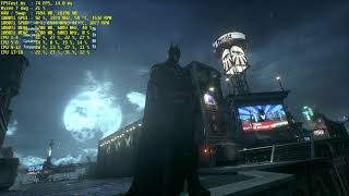 PC 4K Batman: Arkham Knight Ryzen 7 + 1080Ti Sli FPS Test (2160p UHD 60FPS)