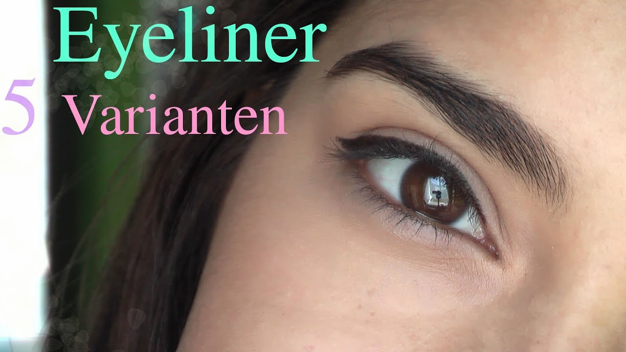 eyeliner 5 varianten anf nger sanny kaur youtube. Black Bedroom Furniture Sets. Home Design Ideas