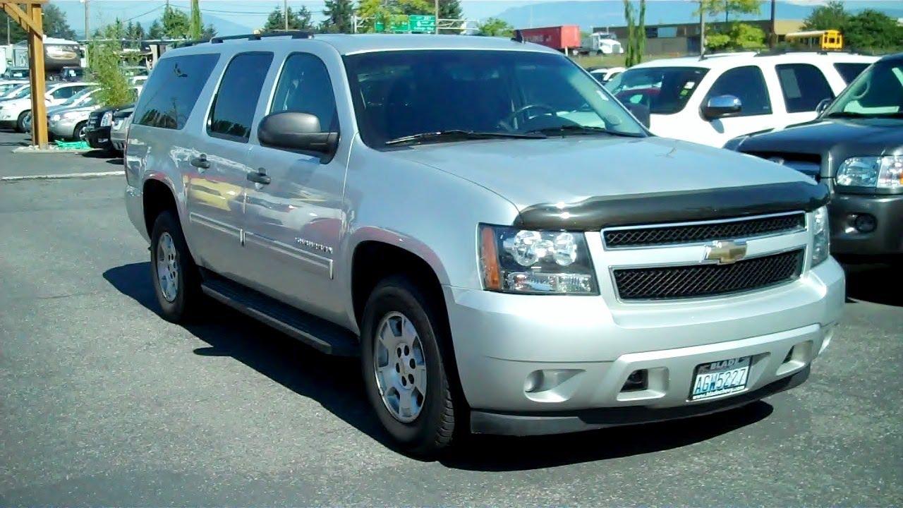 Everett Chevrolet >> 2010 Chevrolet Suburban 1500 LS 4WD Vortec 5.3L V8 SPI ...