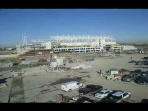 Building Toyota Park - Bridgeview - Timelapse