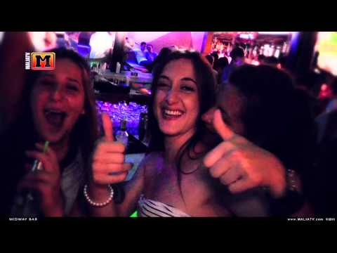 MaliaTV - Midway Bar 2013 (Wiley Ft Angel & Tinchy Stryder - Lights On Remix)