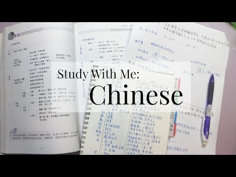 Study With Me: Chinese | Everything Janis