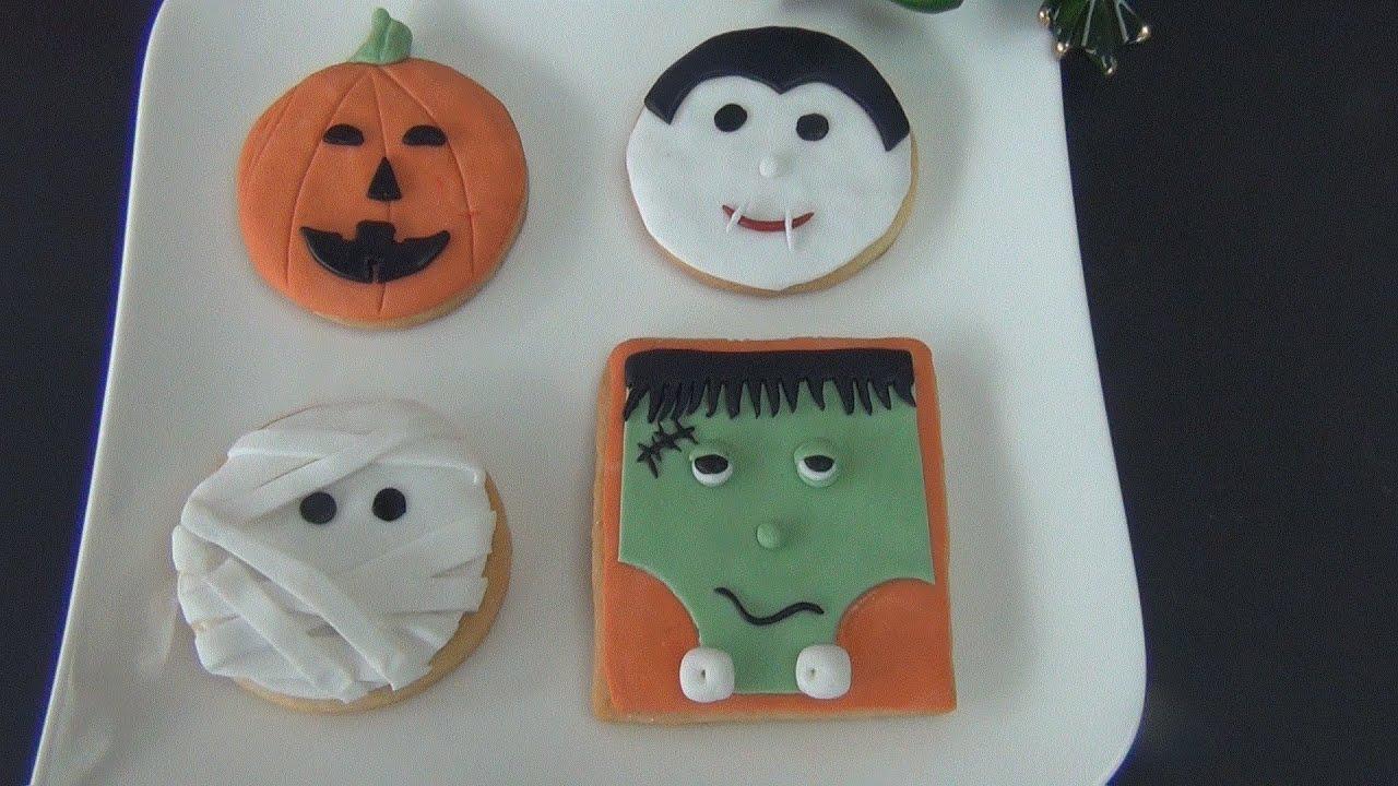 Dolci Halloween.Biscotti Dolci Di Halloween Ricetta Facile E Veloce Tutorial