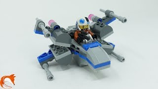 LEGO Star Wars Resistance X-Wing Fighter 75125 Opening Review