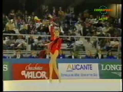Eva Serrano FRA Hoop 1993 Alicante WCh Team Competition