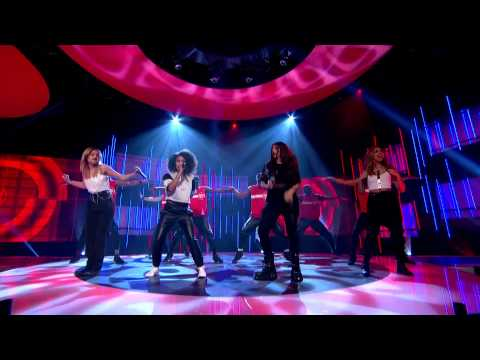 Little Mix perform the official Sport Relief single, Word Up, live | Sport Relief 2014