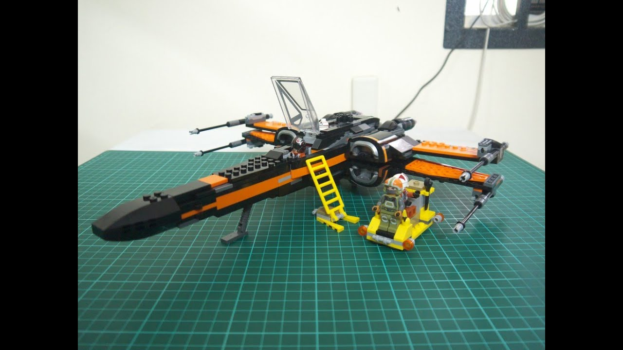 Lego star wars poe s x wing fighter review 75102 youtube - Lego Star Wars Poe S X Wing Fighter Review 75102 Youtube 45