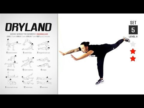 Dryland Workout [ FULL ] [ STRENGTH & TONE ] [ 40 MIN ]