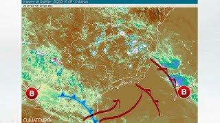 Frente fria aumenta a chuva no Sudeste