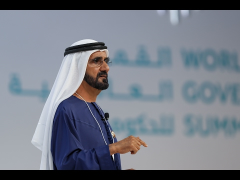 """جلسة محمد بن راشد الحوارية بعنوان """"استئناف الحضارة"""" أمام القمة العالمية للحكومات"""