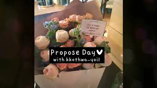 [광주꽃집/신창동화요일]Propose Day