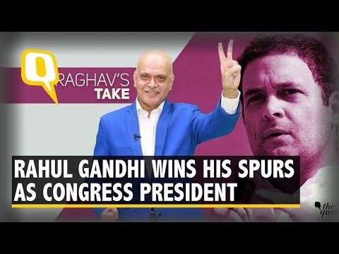 Maturing Into Leader of Substance: 1 Year of Rahul As President    The Quint