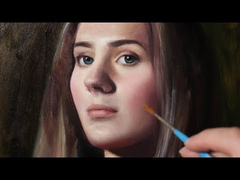 Portrait Painting Tutorial | Mixed Media Special