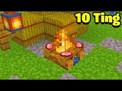 10 Ting Du Ikke Vidste Om CAMPFIRES I Minecraft!