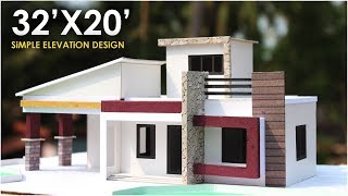 32X20 | MODERN RESIDENTIAL BUILDING | 1BHK |  North facing
