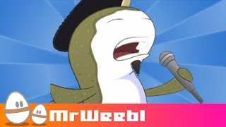 Jazzwhals : A Narwhals jazz remix : animated music video : MrWeebl