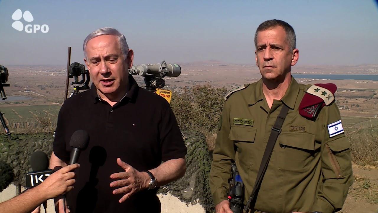"""רה""""מ נתניהו: """"לא נסבול התקפות על ישראל ממדינה כלשהי במרחב"""""""
