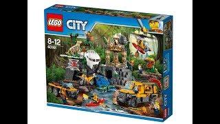 LEGO® City - База исследователей джунглей