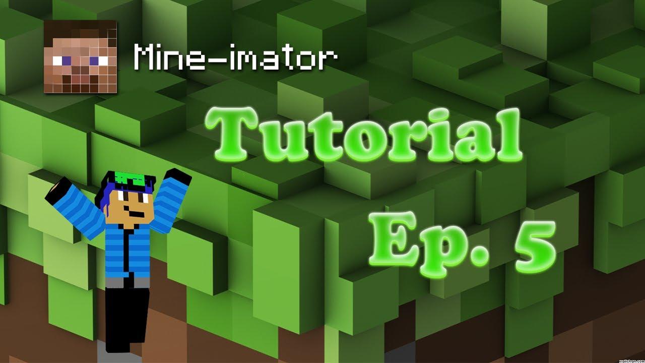 Mine Imator Tutorial Ep5 Custom Textures