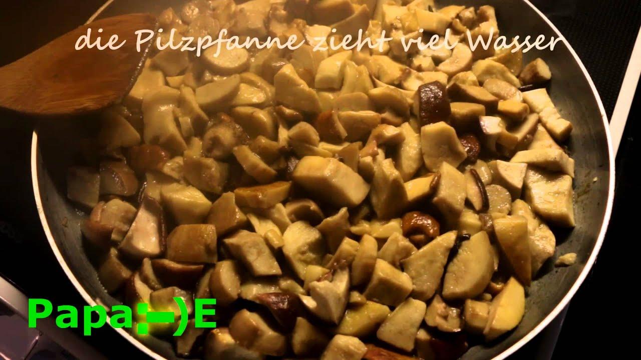 vegetarische k che steinpilz und birkenpilz gesammelt und zubereitet von papa e youtube. Black Bedroom Furniture Sets. Home Design Ideas