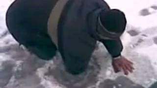 Crazy Russian Ice Fishing
