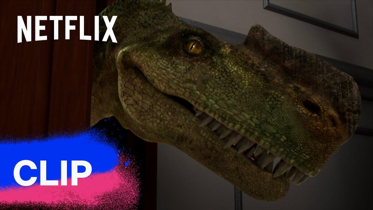Un dinosauro IN CASA?!? 🦖 Jurassic World: Nuove Avventure   Netflix Futures