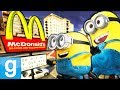 THE MINIONS WORK AT MCDONALDS!! Gmod Sandbox Fun mp3