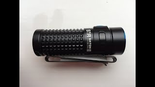 Olight S1R baton II - 1000 lumens. How can they get this much light out of such a small flashlight?