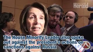 Nancy Pelosi calls on Paul Ryan to fire Devin Nunes following FBI memo