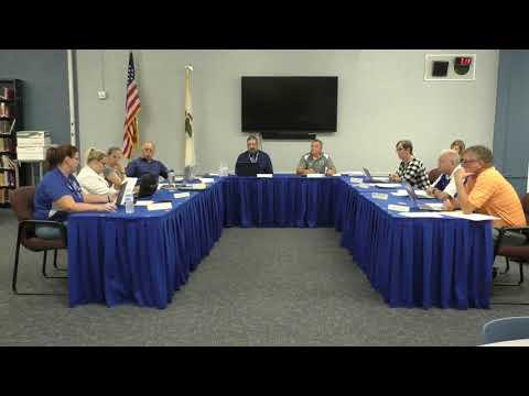 Freeburg Community High School District 77 Board of Education Meeting - September 19, 2019