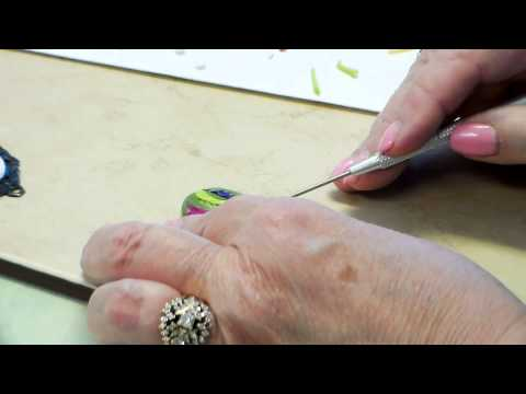 """Polymer Clay Embroidery and """"Painterly Clay"""" with B'sue, Marcia and Irene"""