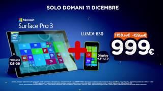 Spot - Unieuro Natalissimi - Microsoft Surface Pro 3 + LUMIA