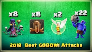 New ARMY!! 8 Earthquake Spell+8 Witch+22 Bowler+2 Healer | TH11 War Strategy #225 | COC 2018 |