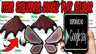 HOW TO PICK UP EXCLUSIVE GOOGLE PLAY ITEMS BY PHONE-ROBLOX