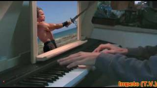 Conan the Barbarian (Arnold Schwarzenegger) - The Recovery  (Anvil of Crom) piano