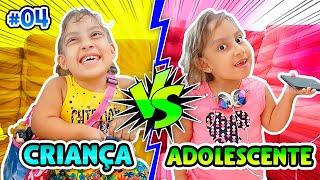 Criança VS Adolescente #4 - MC Divertida